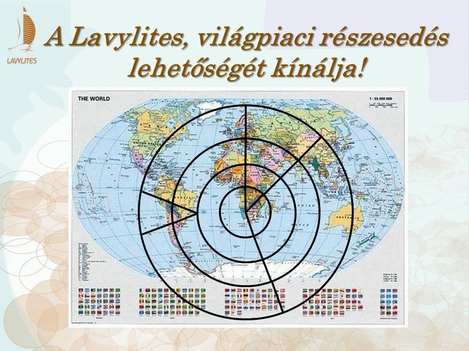 A Lavylites, világpiaci részesedés lehetőségét kínálja!