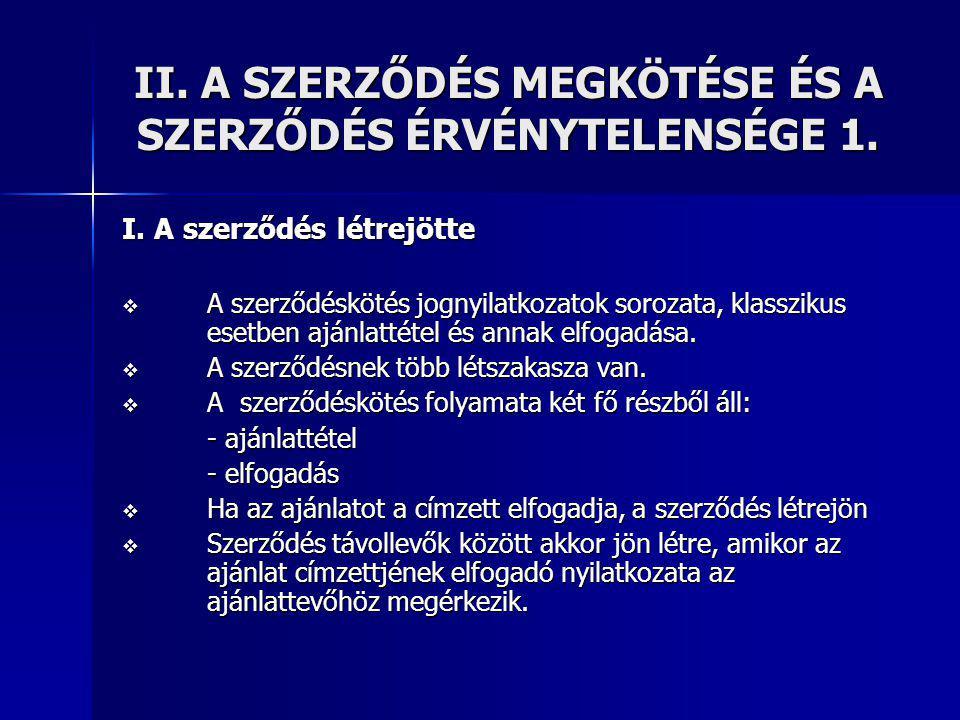V.A SZERZŐDÉSSZEGÉS 3. 2.