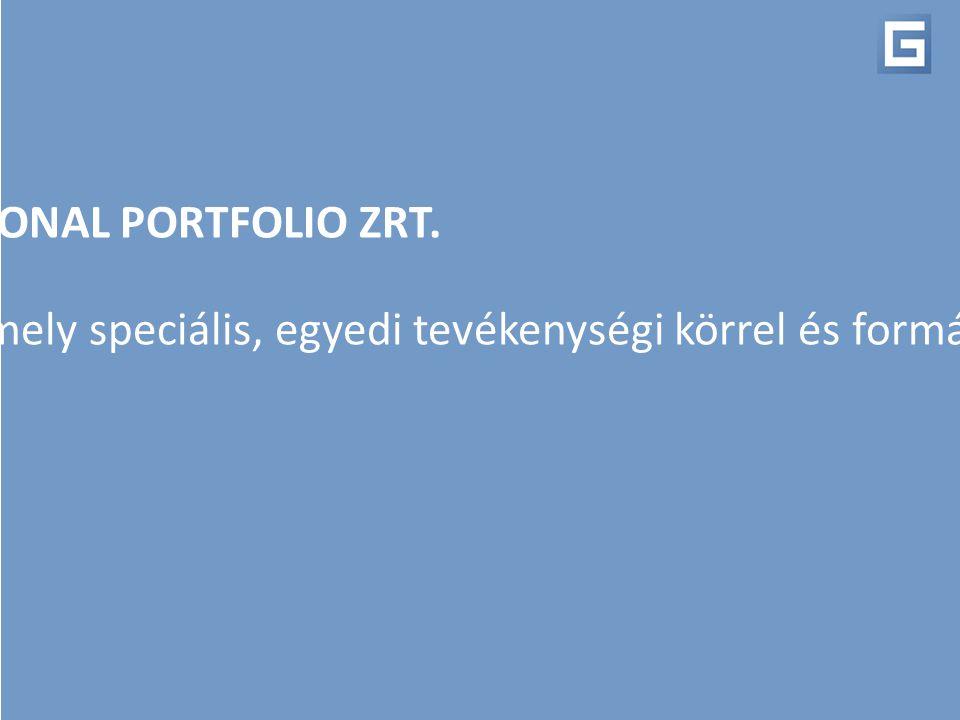GEO PROFESSIONAL PORTFOLIO ZRT. Magyarország új-generációs befektetési szolgáltatója, mely speciális, egyedi tevékenységi körrel és formával működik.