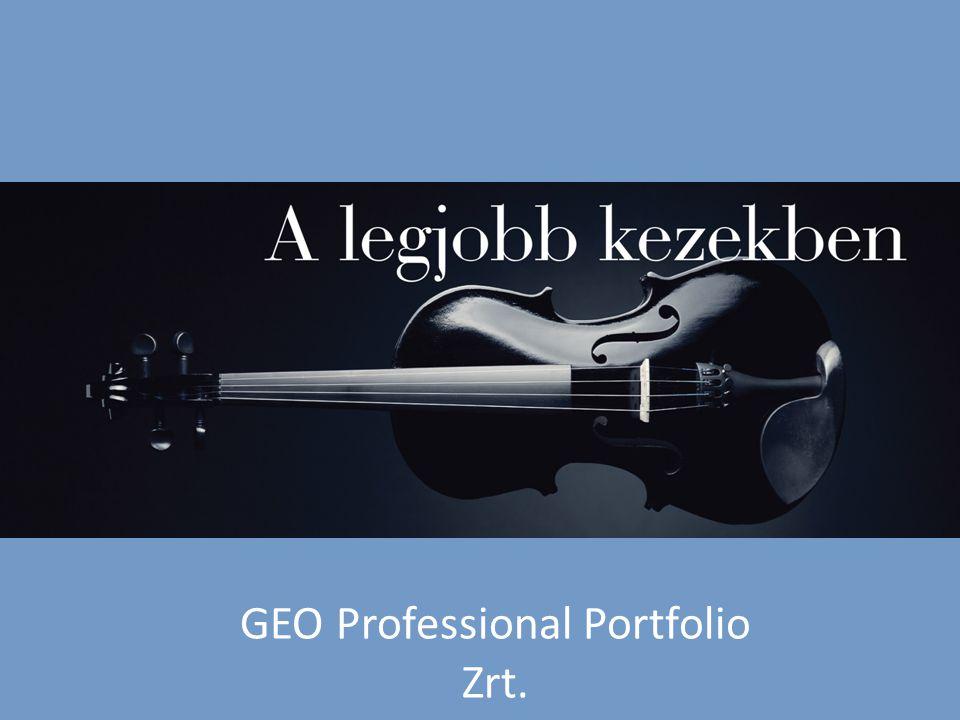 GEO Professional Portfolio Zrt. www.geopro.hu
