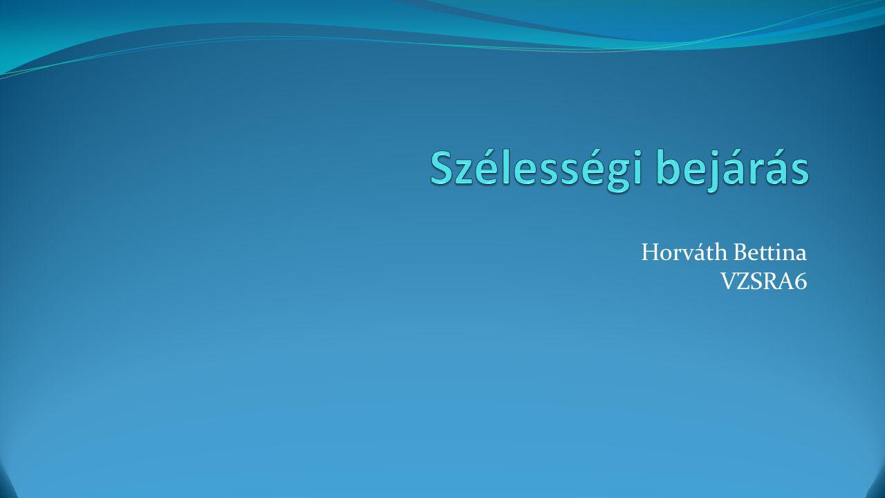 Horváth Bettina VZSRA6