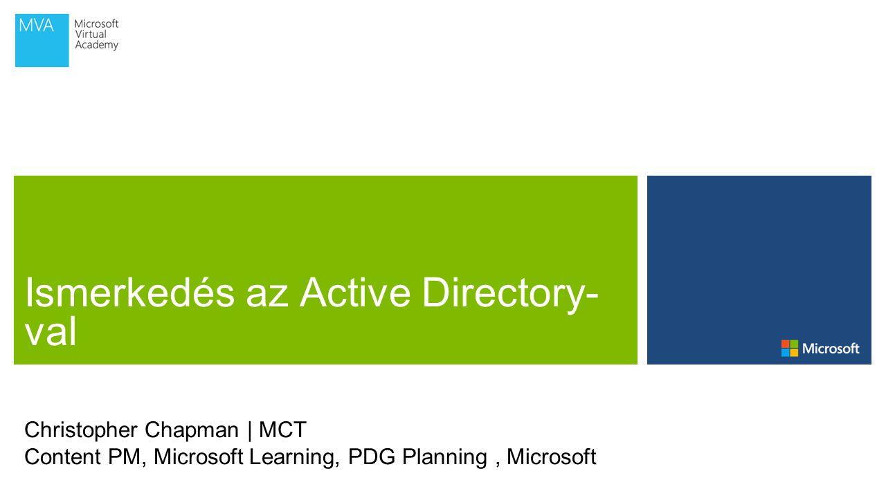Microsoft Virtual Academy Active Directory Federációs Szolgáltatások (AD FS)
