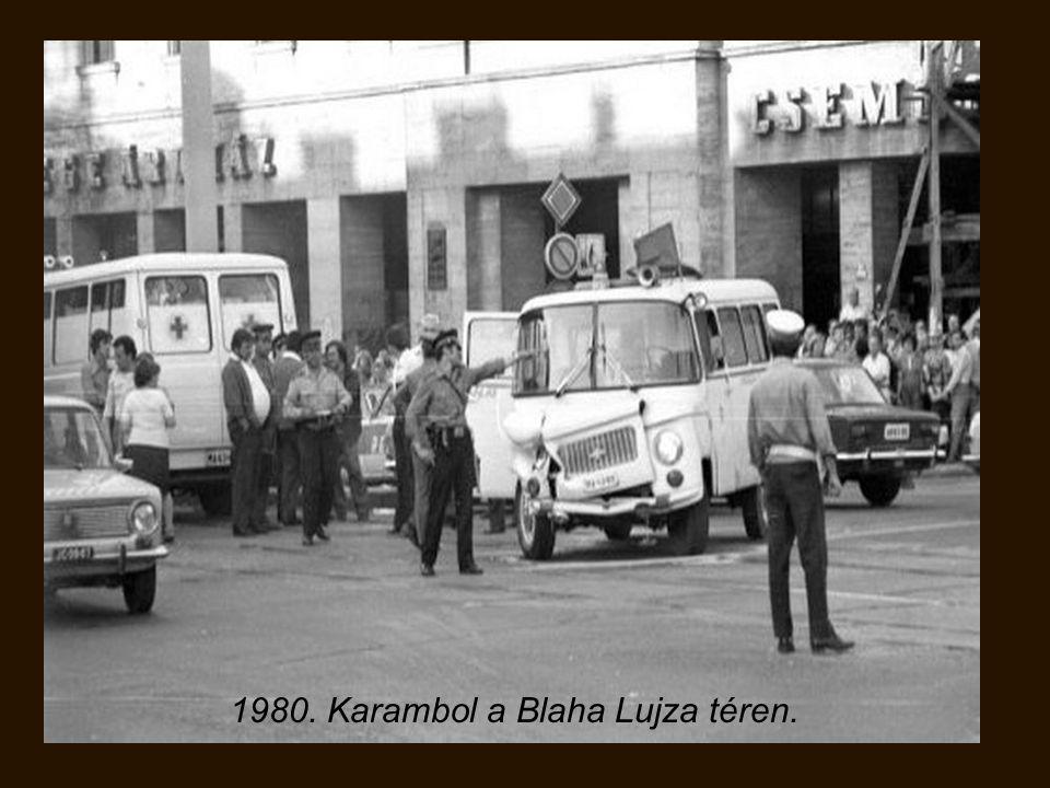 1978. Ikarus 286 csuklós, San Francisco utcáin.