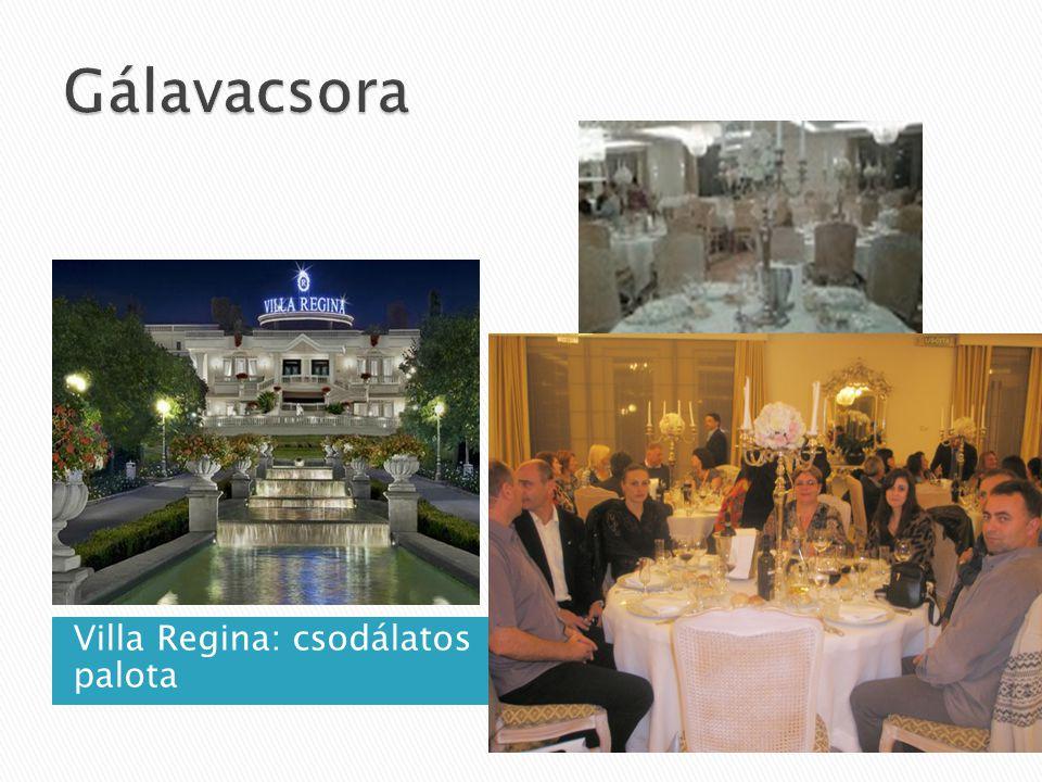 Villa Regina: csodálatos palota