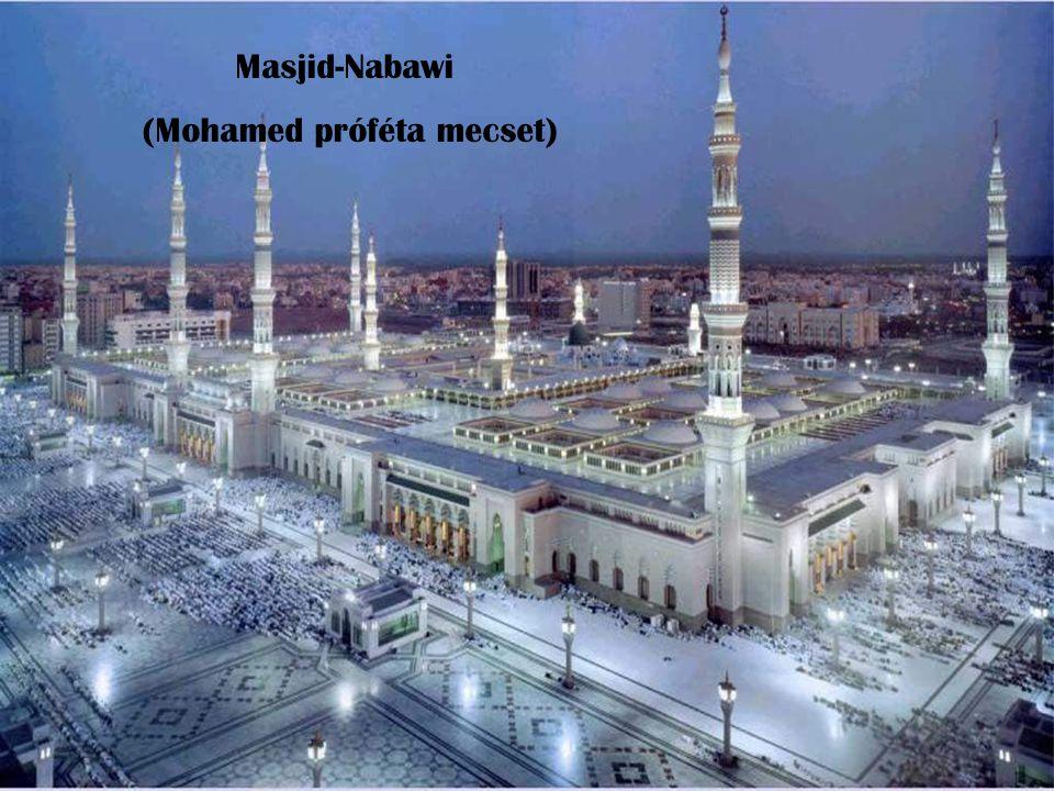 Masjid-Nabawi (Mohamed próféta mecset)