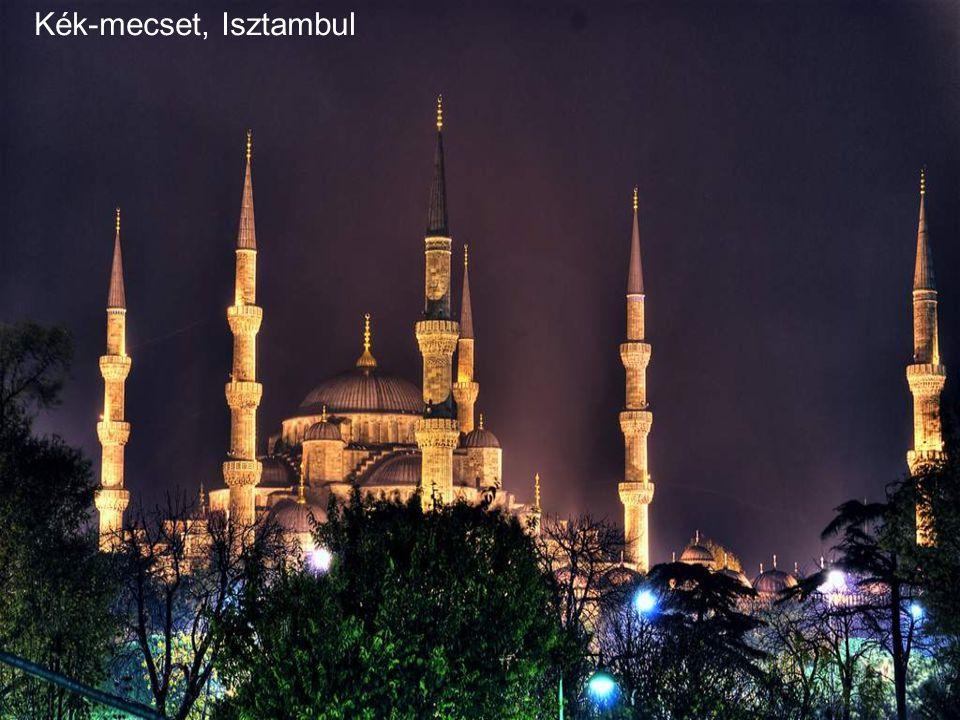 Kék-mecset, Isztambul