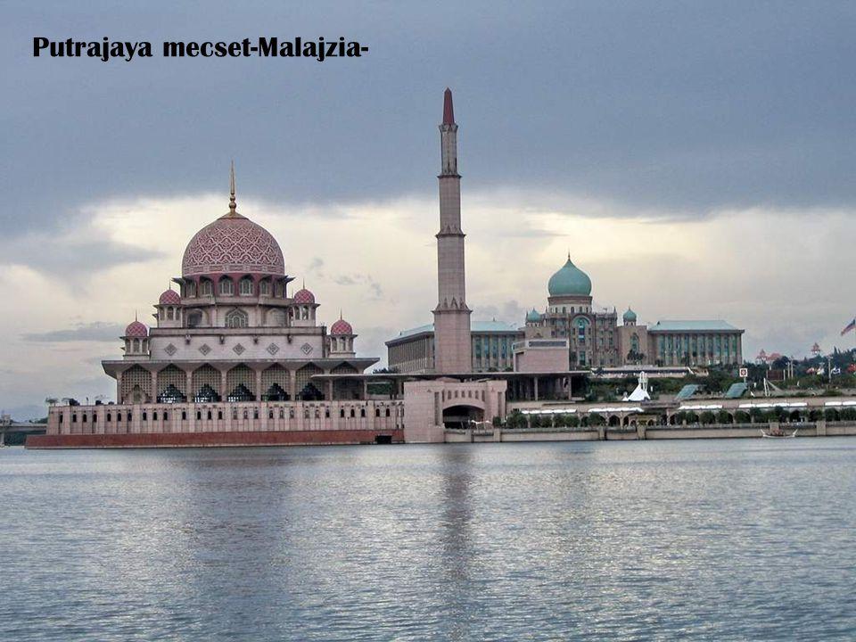 Putrajaya mecset-Malajzia-
