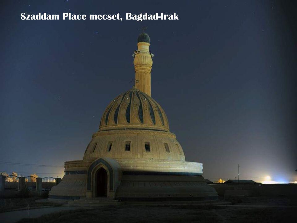 Szaddam Place mecset, Bagdad-Irak