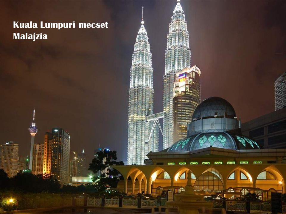 Kuala Lumpuri mecset Malajzia