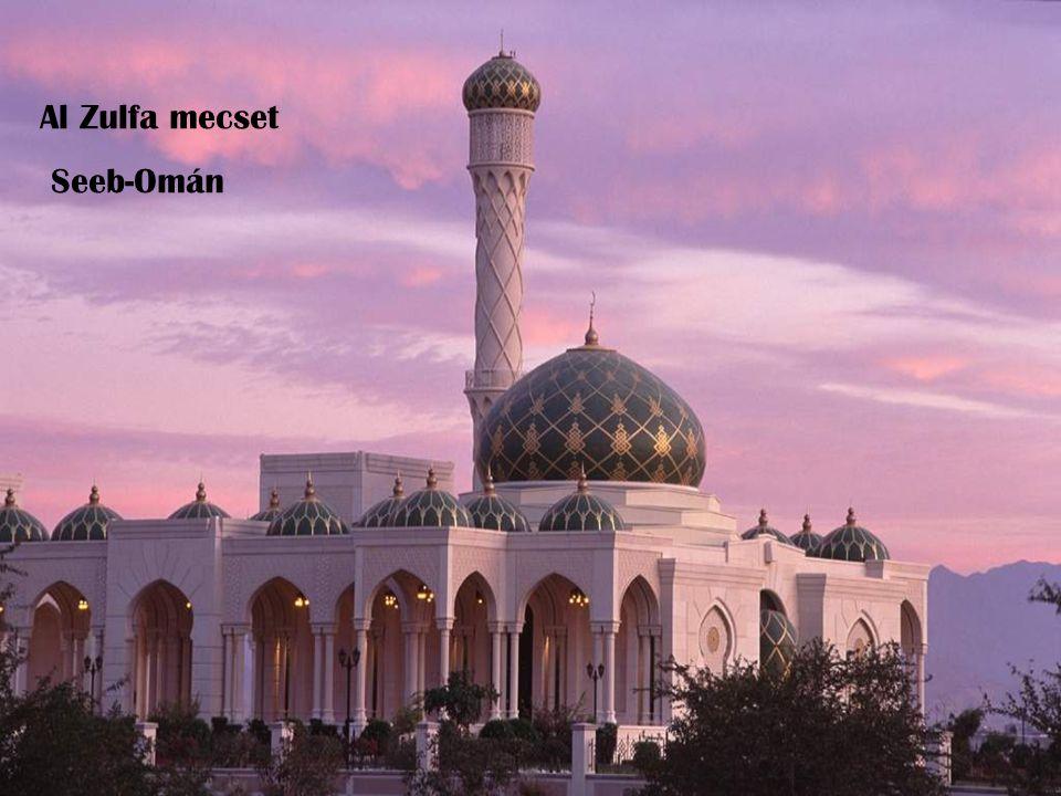 Al Zulfa mecset Seeb-Omán