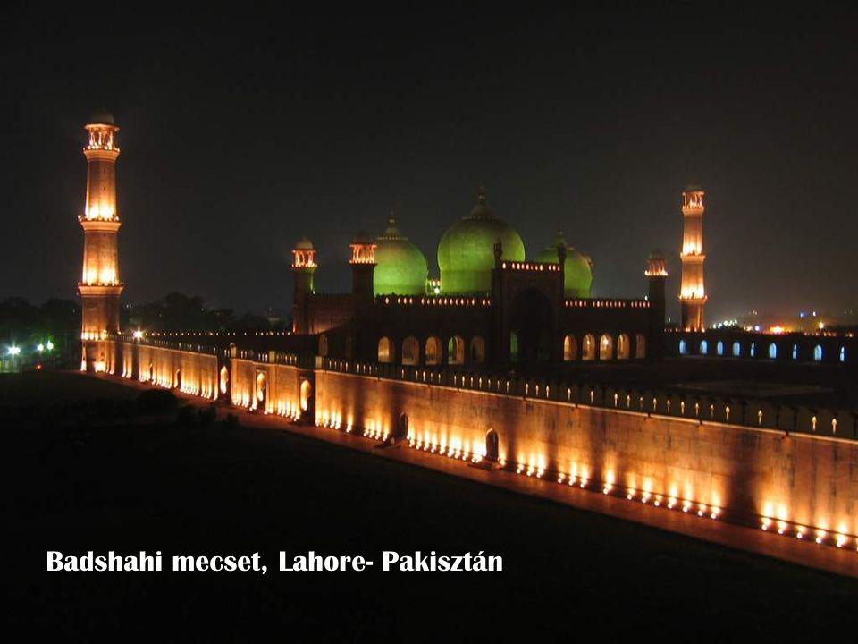 Badshahi mecset, Lahore- Pakisztán