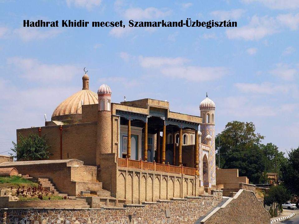 Hadhrat Khidir mecset, Szamarkand-Üzbegisztán