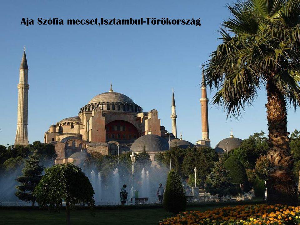 Aja Szófia mecset,Isztambul-Törökország
