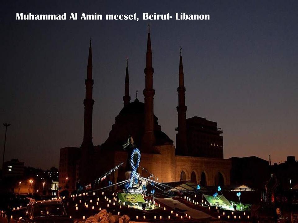 Muhammad Al Amin mecset, Beirut- Libanon