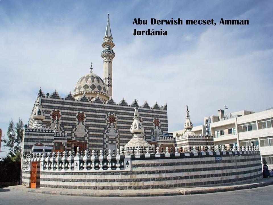 Abu Derwish mecset, Amman Jordánia