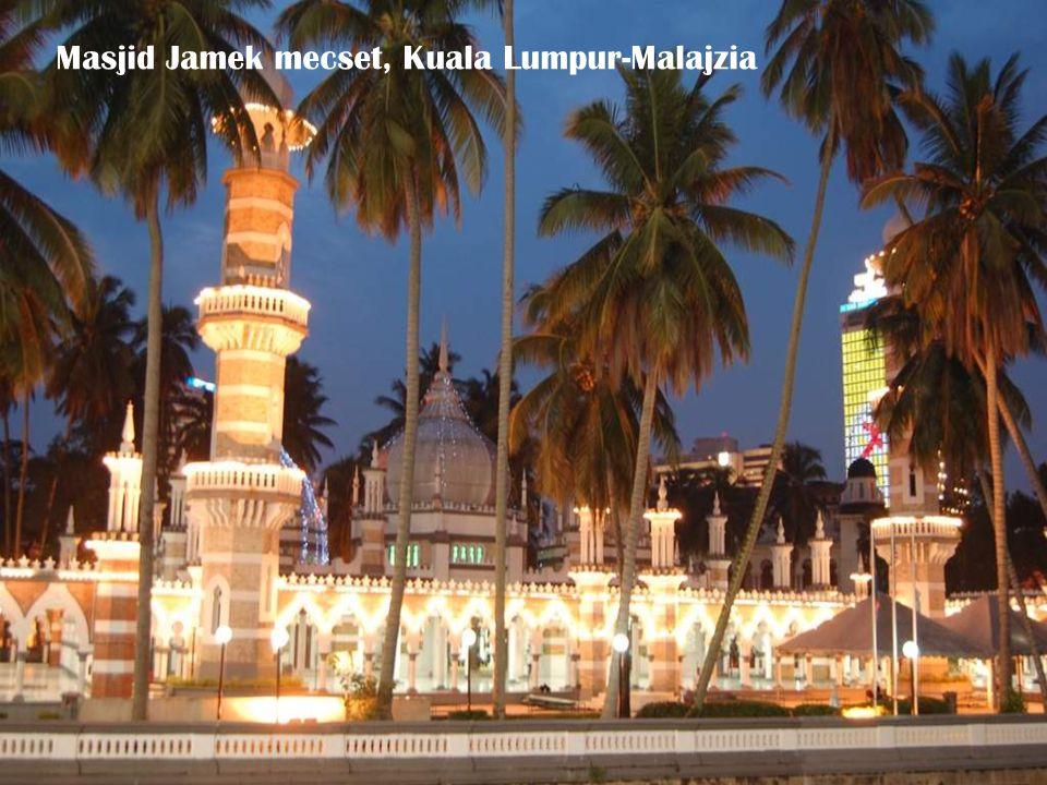 Masjid Jamek mecset, Kuala Lumpur-Malajzia