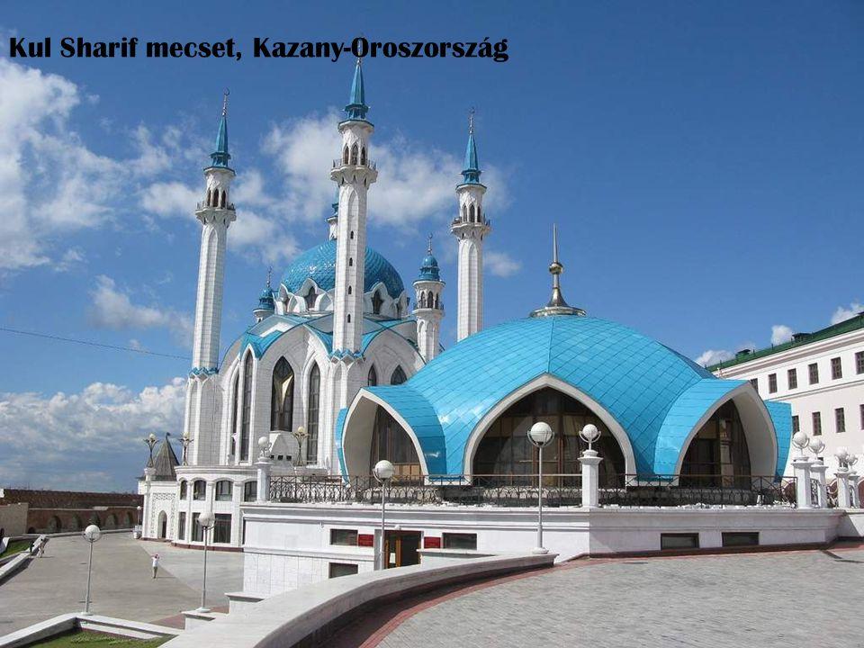 Kul Sharif mecset, Kazany-Oroszország