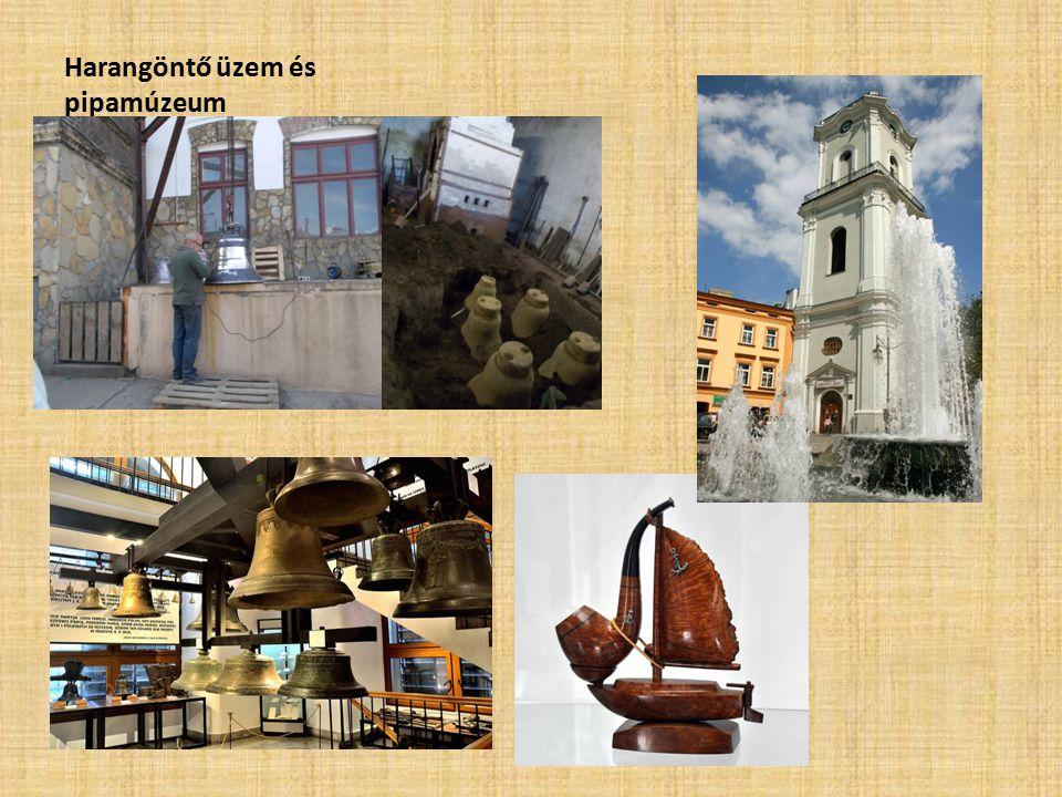 Harangöntő üzem és pipamúzeum