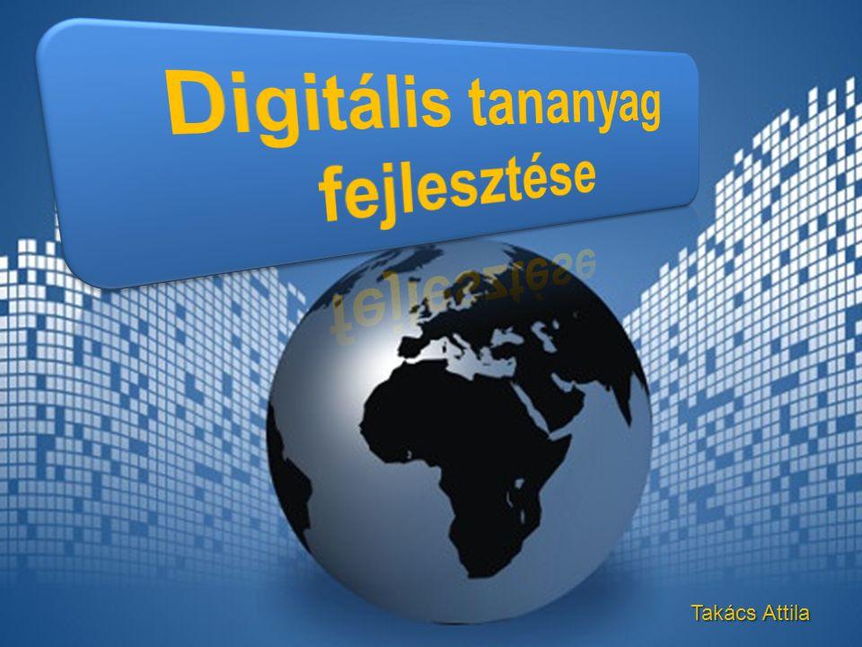 Statikus digitális tartalmak Prezentációs digitális tartalmak Interaktív digitális tartalmak Kollaboratív digitális tartalmak A digitális tartalmakat alapvetően négy típusba sorolhatjuk