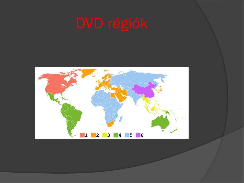 DVD régiók