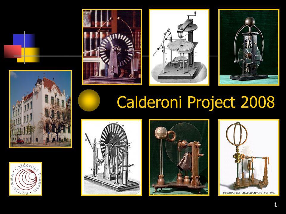1 Calderoni Project 2008