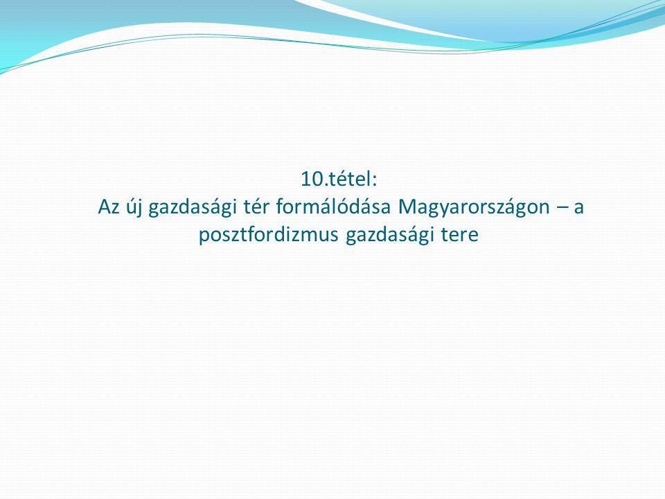 A beruházások alakulása Magyarországon (volumenértékben, 1950=100%) Forrás: Századok statisztikája (2001) KSH, 45.