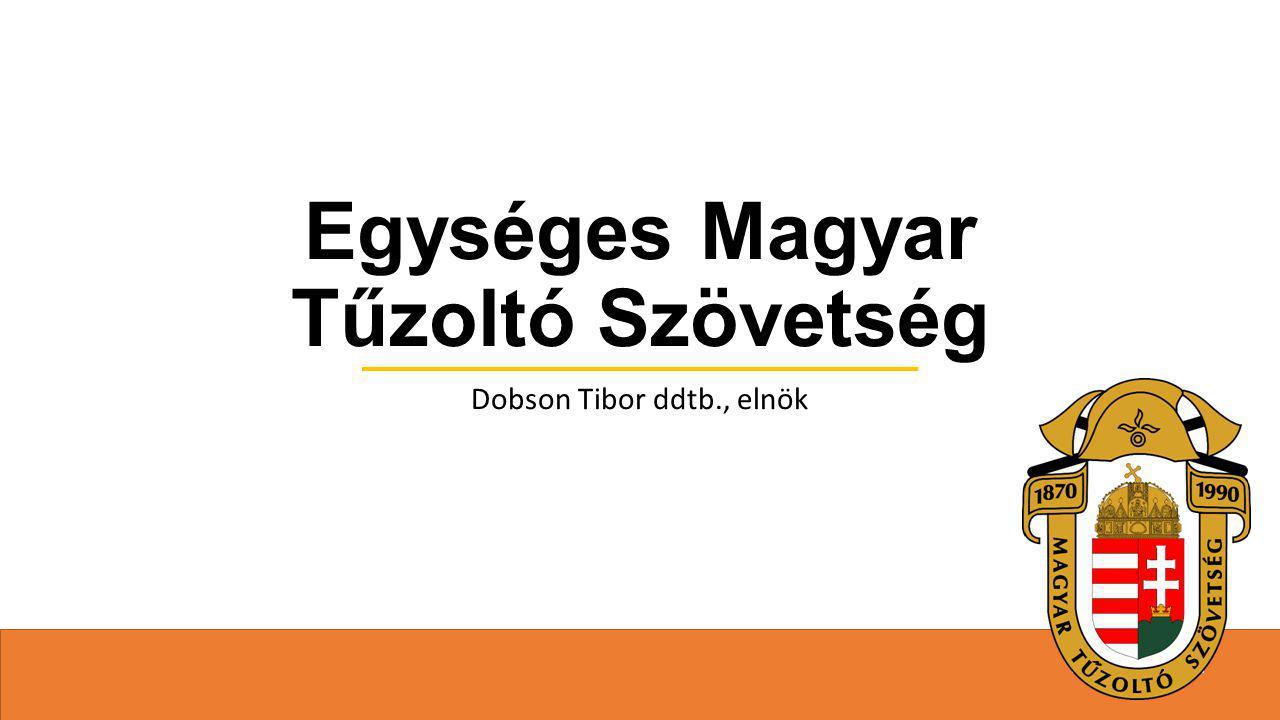 Egységes Magyar Tűzoltó Szövetség Dobson Tibor ddtb., elnök