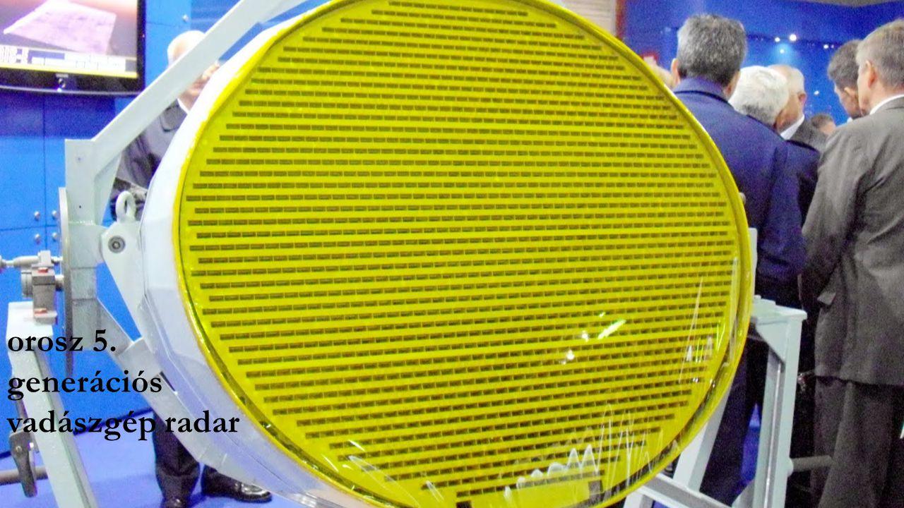 orosz 5. generációs vadászgép radar
