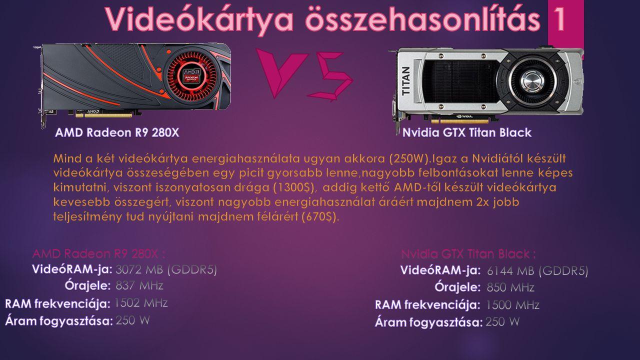 AMD Radeon R9 280X : Nvidia GTX Titan Black :