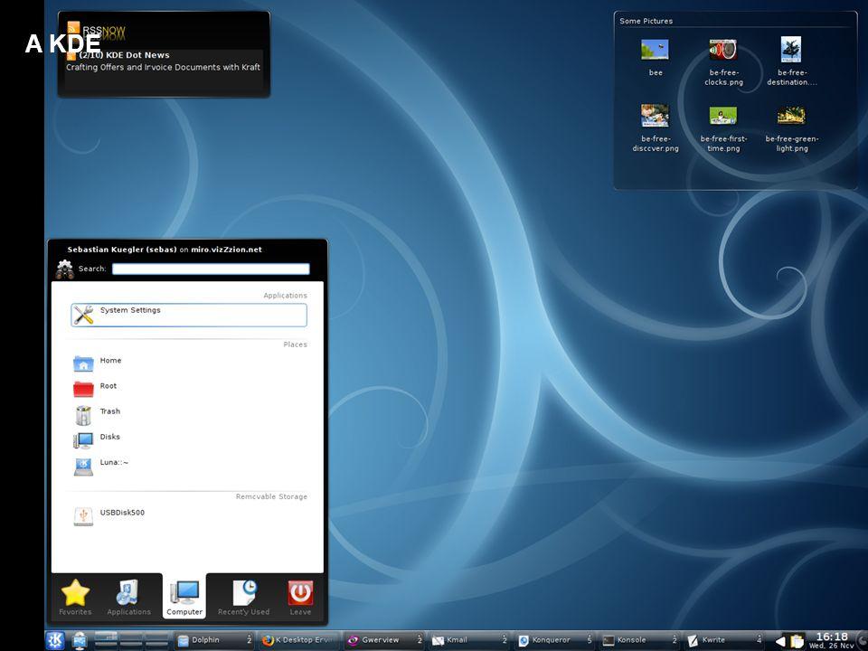 A KDE