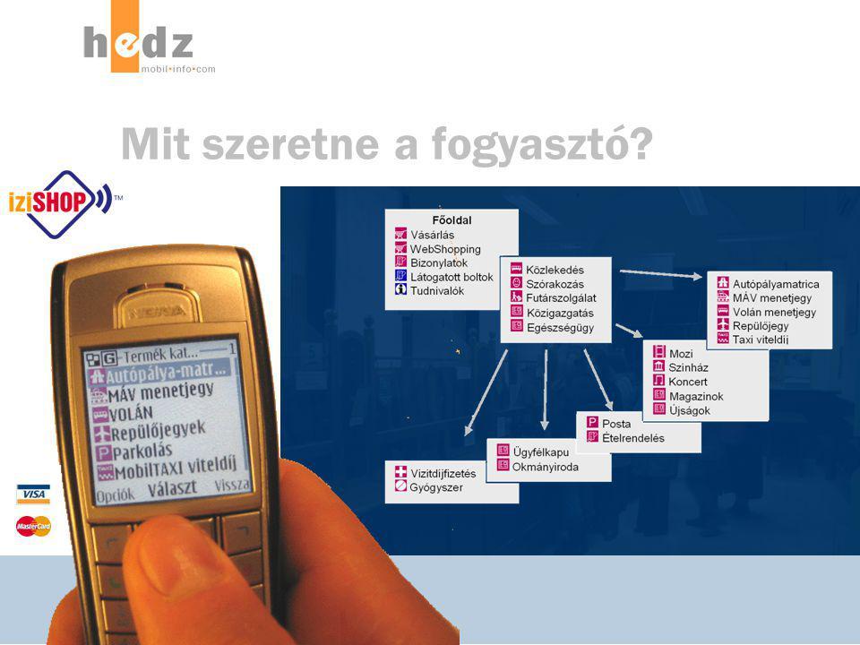 © 2006-2007, Hedz Magyarország Kft.2007 / 2 / 2 12 mobill ™ Mit szeretne a fogyasztó?