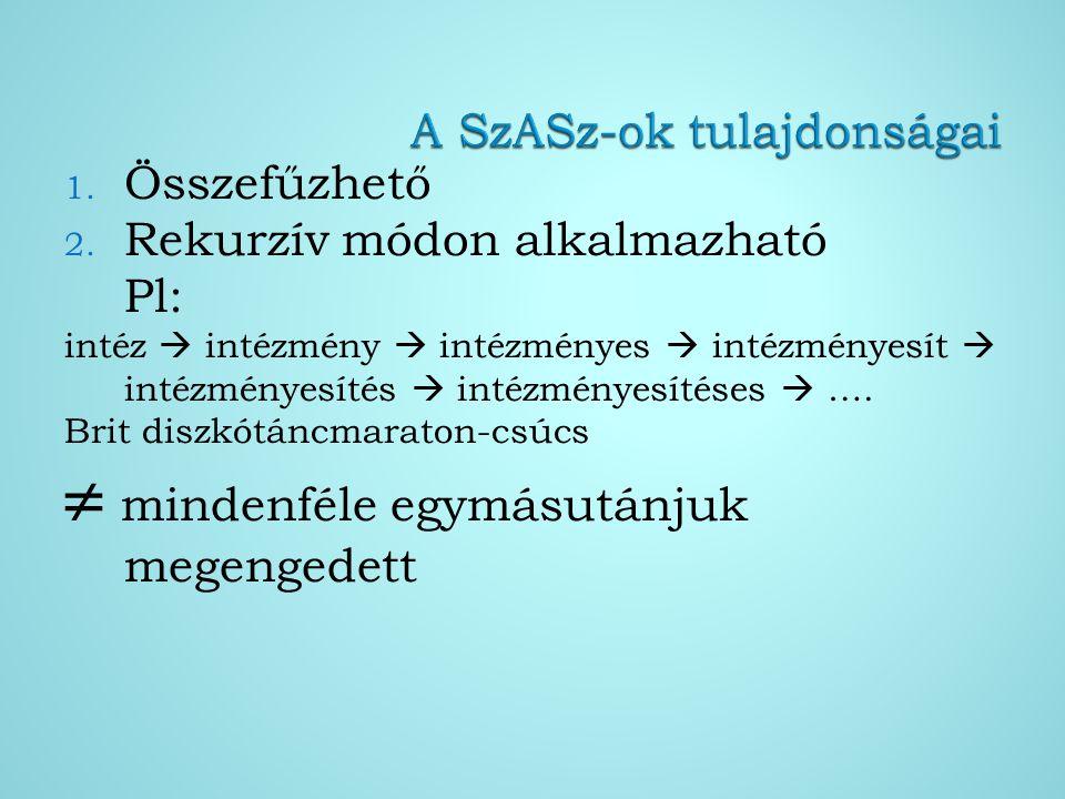 I.OSZT II.