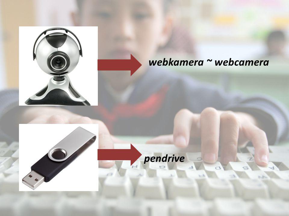 webkamera ~ webcamera pendrive