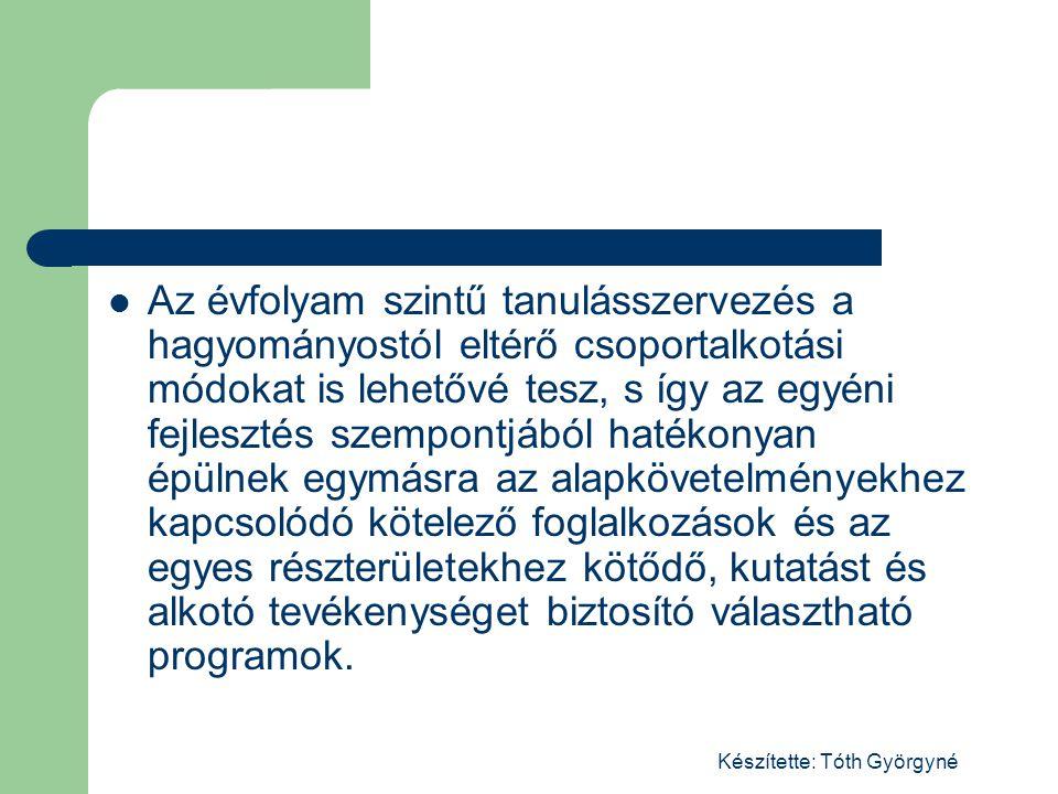 Készítette: Tóth Györgyné Egy megvalósított témahét programja Társadalom ismeret témahét
