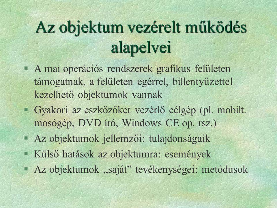 A Windows alkalmazásokról...