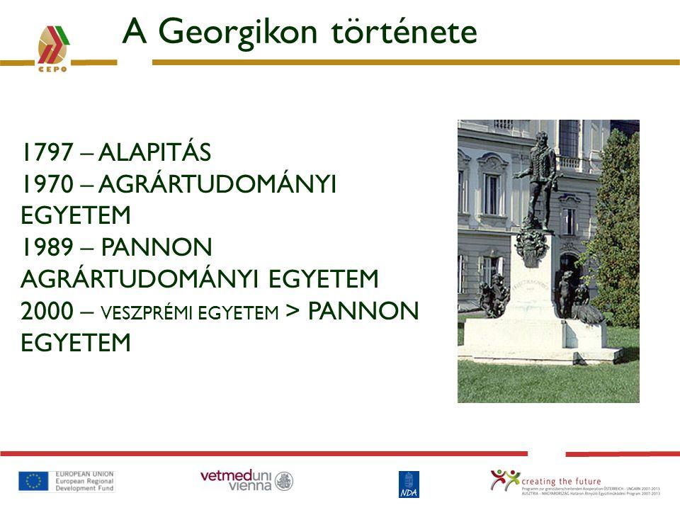 Két patinás intézmény találkozása 1765 Georgikon 1797