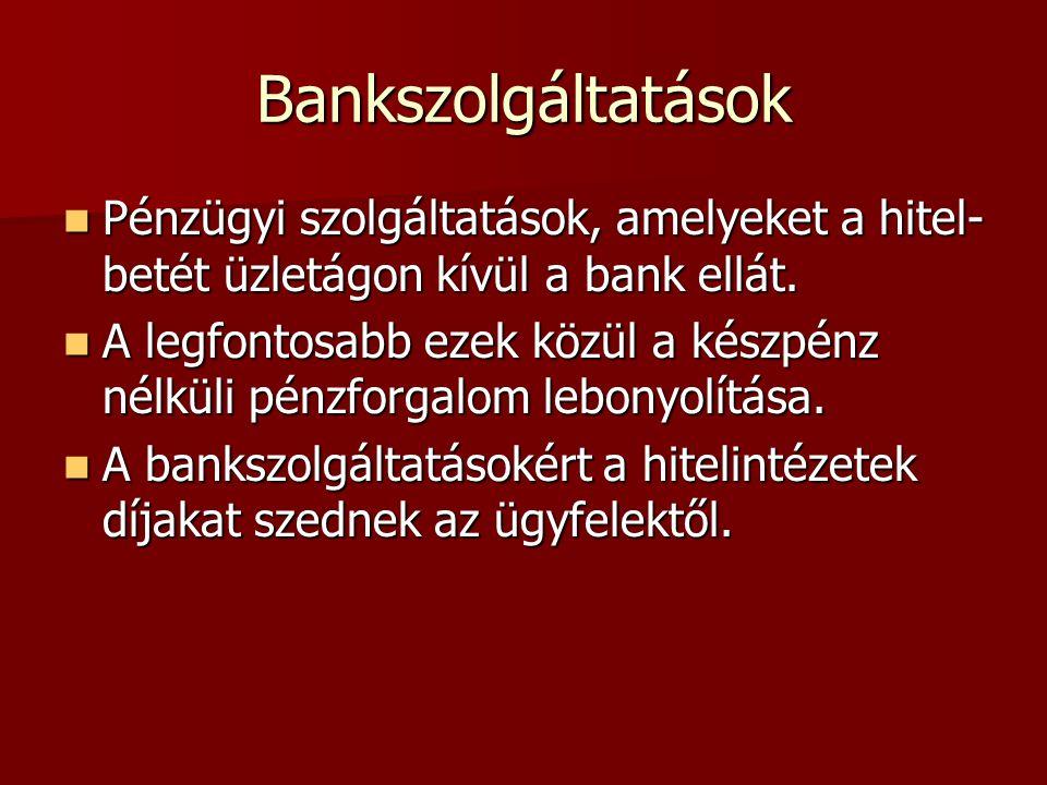 Jellemzői A bank azonnal teljesít, ha a feltételek fennállnak A bank azonnal teljesít, ha a feltételek fennállnak Lehet feltételhez kötött és feltétel nélküli Lehet feltételhez kötött és feltétel nélküli Lehet visszavonható és visszavonhatatlan Lehet visszavonható és visszavonhatatlan Folyamatos és egyszeri ügyletre is vonatkozhat Folyamatos és egyszeri ügyletre is vonatkozhat