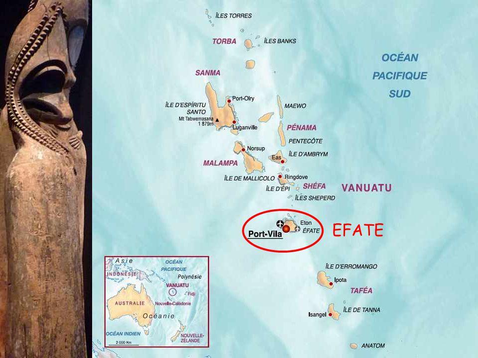Vanuatu egy Dél-Csendes-óceáni vulkanikus eredetű szigetcsoport, található Ausztráliától 1750 km-re keletre, Új-Kaledóniától 500 km-re észak-keletre és a Fidzsi-szigetektől 1000 km-re nyugatra.