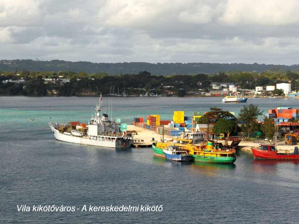 Vila kikötőváros - A tengeröböl paradicsoma