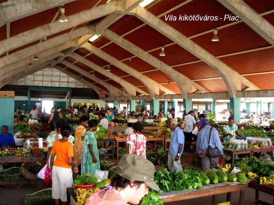 Vila kikötőváros - A kereskedelmi kikötő