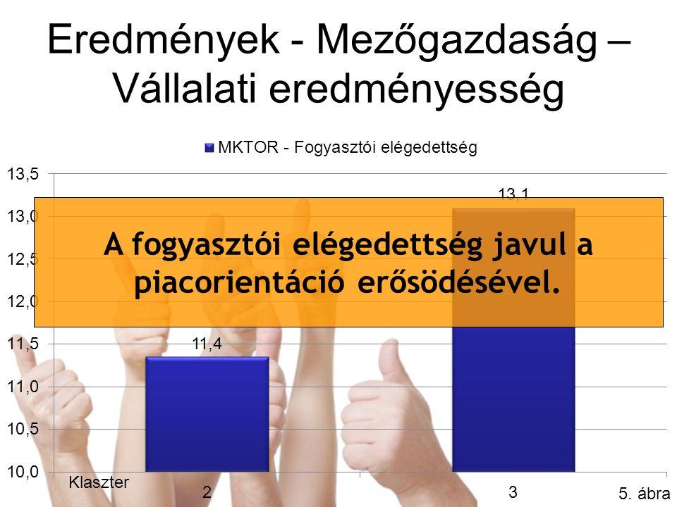 Eredmények - Mezőgazdaság – Vállalati eredményesség 5.
