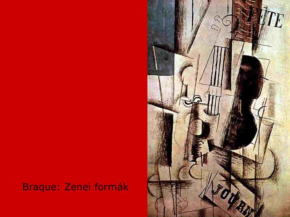 Braque: Zenei formák
