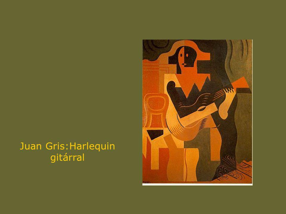 Juan Gris:Harlequin gitárral