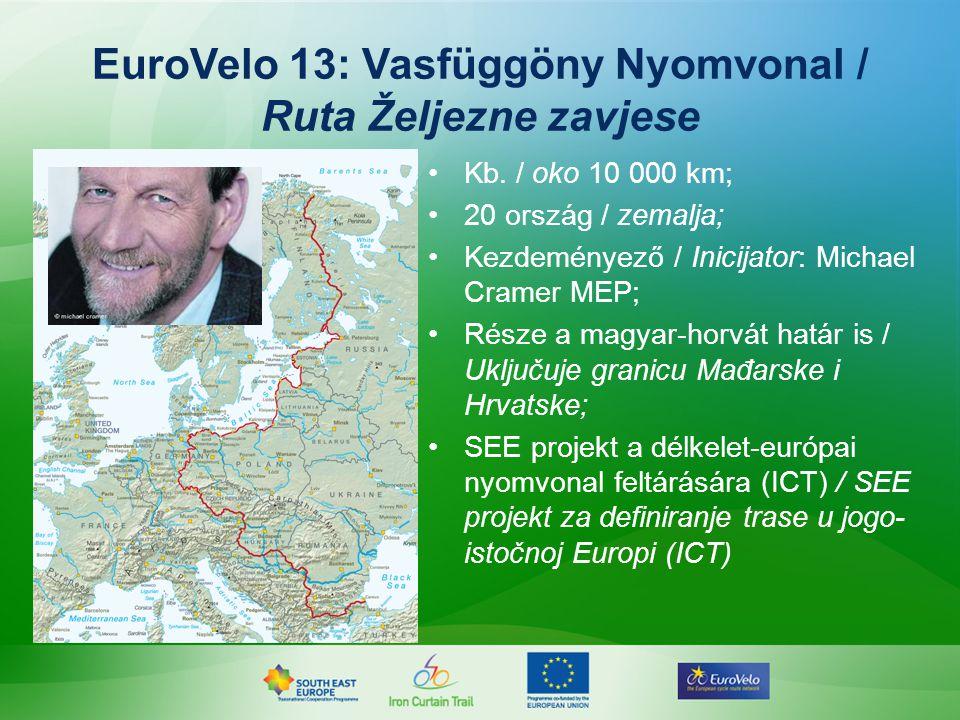 EuroVelo 13: Vasfüggöny Nyomvonal / Ruta Željezne zavjese Kb.