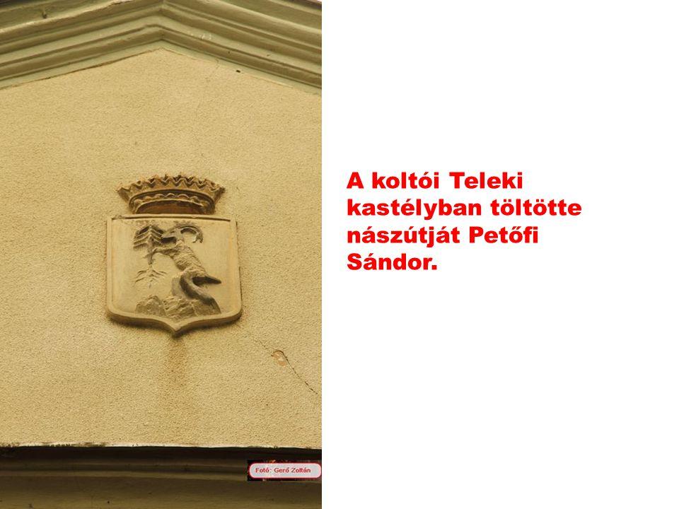 Nagybánya Arany sas fogadó. Itt szállt meg Petőfi Sándor a nászútján Koltóra menet.