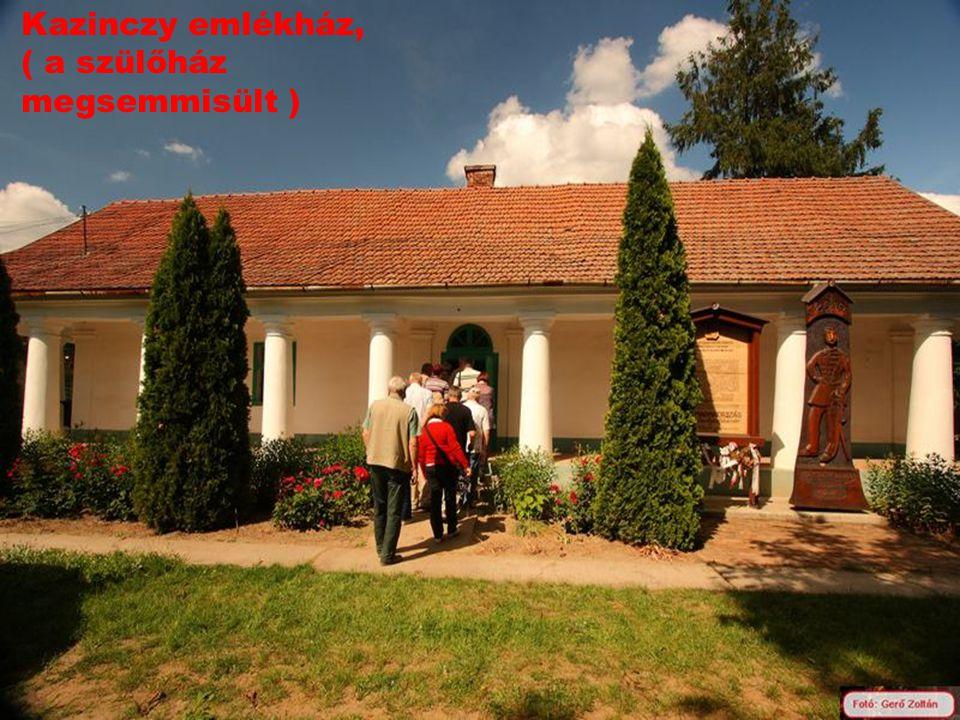 Kazinczy emlékház Érsemlyénben