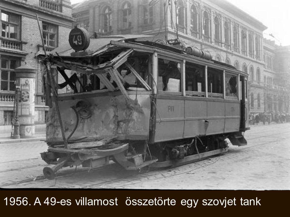 1952. Az eredeti Népstadion metróállomás.