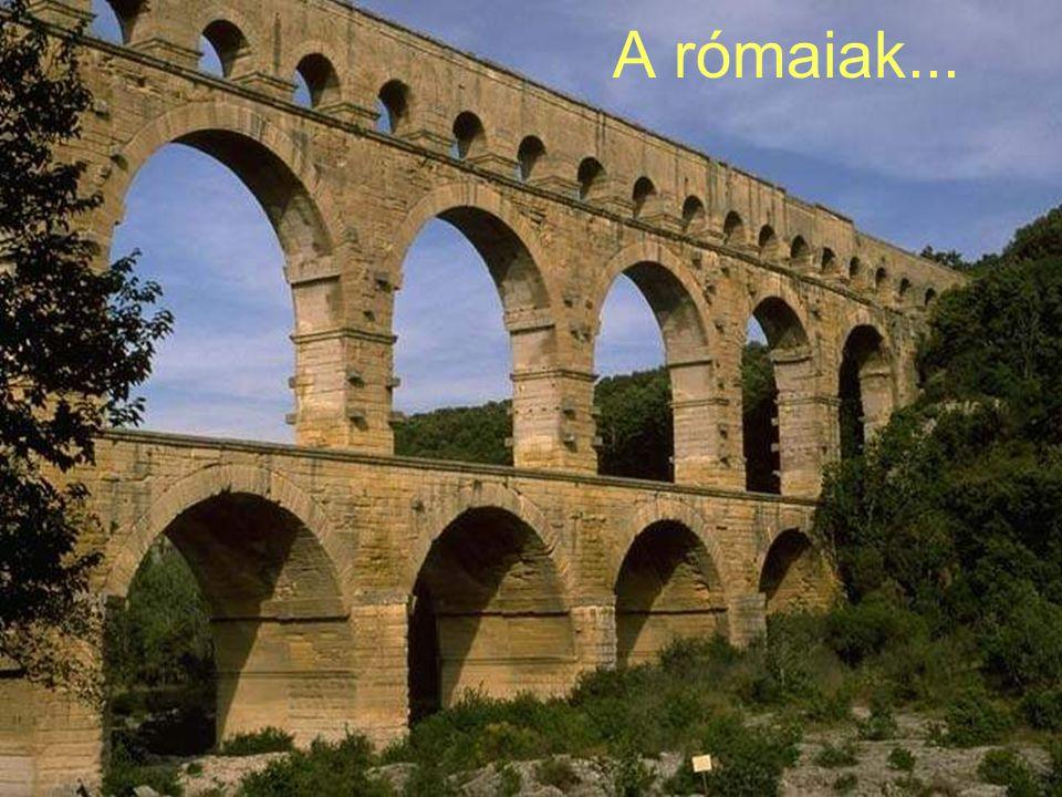 Próba szerencse módszere Anélkül, hogy tudnánk miért lassan megtanuljuk hogyan Példa: Római építmények