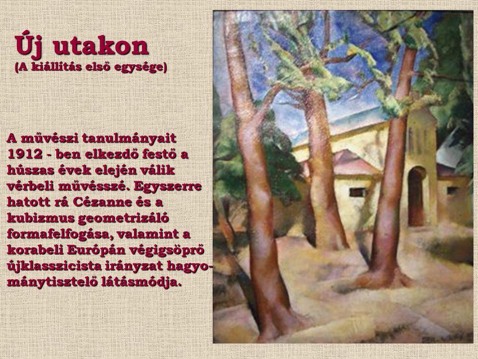 ABA - NOVÁK (1894 – 1941) a barbár zseni Életmű - kiállítás MODEM Debrecen 2008.04.21. - 07.20.