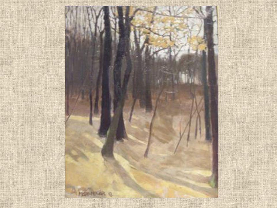 Új utakon A művészi tanulmányait 1912 - ben elkezdő festő a húszas évek elején válik vérbeli művésszé.